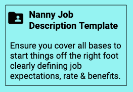 I'd like a job description template